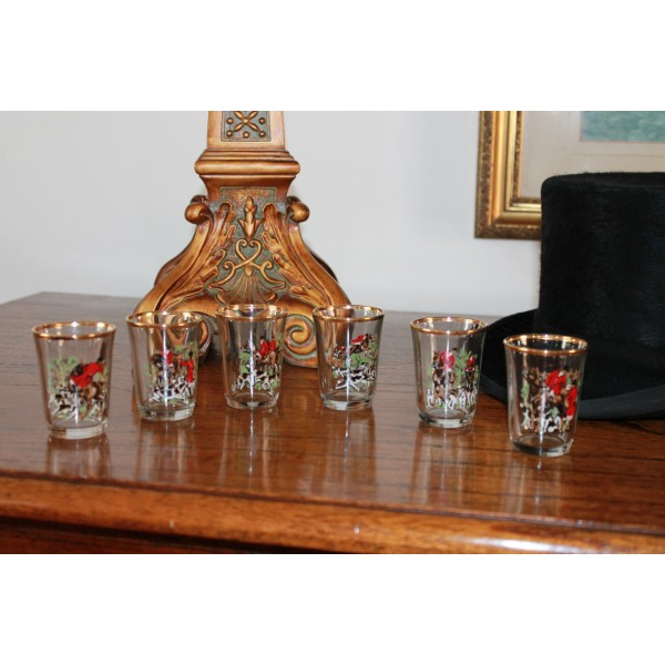 6 Piece Hunting Shot Glasses